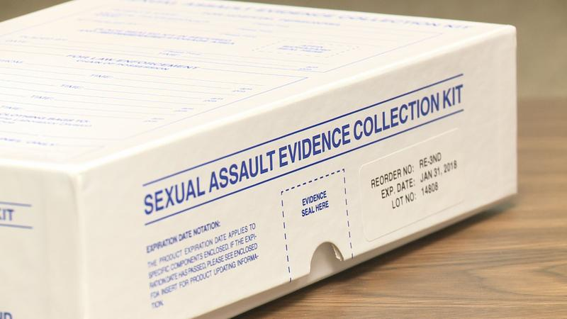 Sexual assault evidence collection kit can now be tracked via website