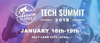 Information for the upcoming 2018 Silicon Slopes Tech Summit