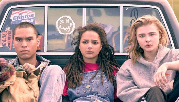 "The stars of ""The Miseducation of Cameron Post,"" winner of the Festival's grand jury prize."
