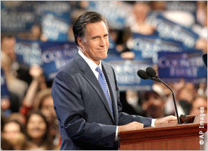 Fromer Republican presidental nominee Mitt Romney eyes political resurgence as a Utah Senator.