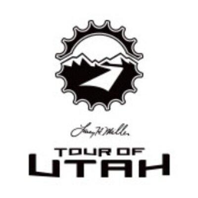Logo for the Tour of Utah cycling race