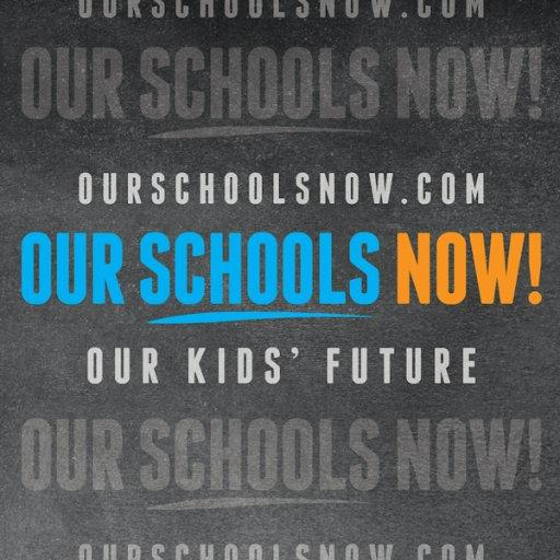 Our Schools Now, an education initiative, could potentially be cancelled out.