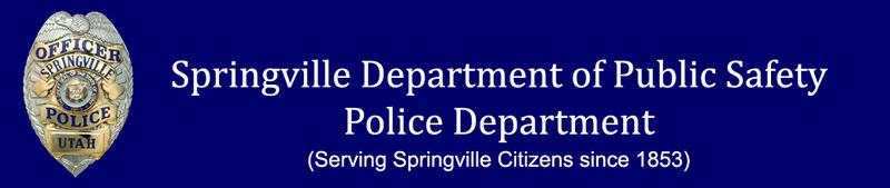 Springville police officer aided by passer-by.