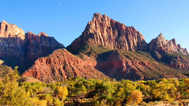Climbing Cliffs at Zion will be closed temporarily.