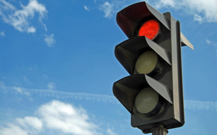 Stubborn red lights could no longer be an issue.