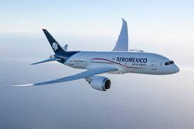 Aeromexico, a Mexican airline that offers flights to Salt Lake City International.