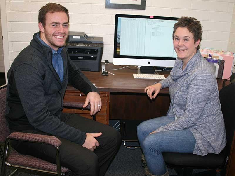 USU pre-med student researches concussion reporting behaviors.