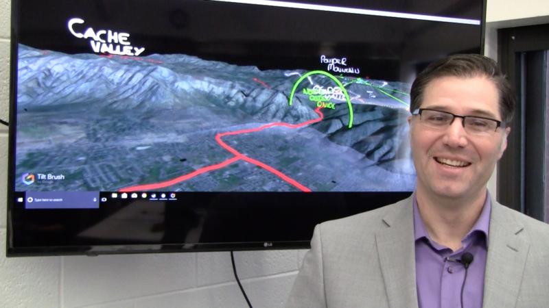 Utah State University's landscape architecture and design program uses virtual reality