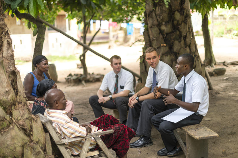 LDS missionaries serve countries around the world.