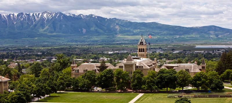 Utah State University in Logan, UT, to address critics of major donation from Koch brothers.
