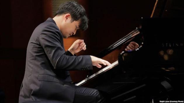 Yekwon Sunwoo performing