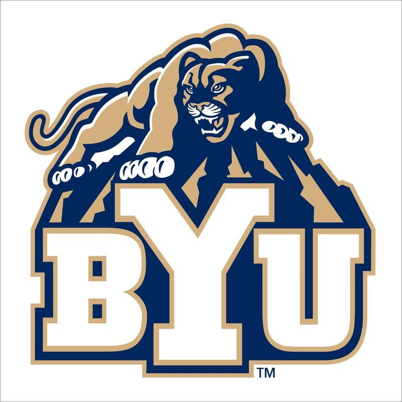 BYU school logo.