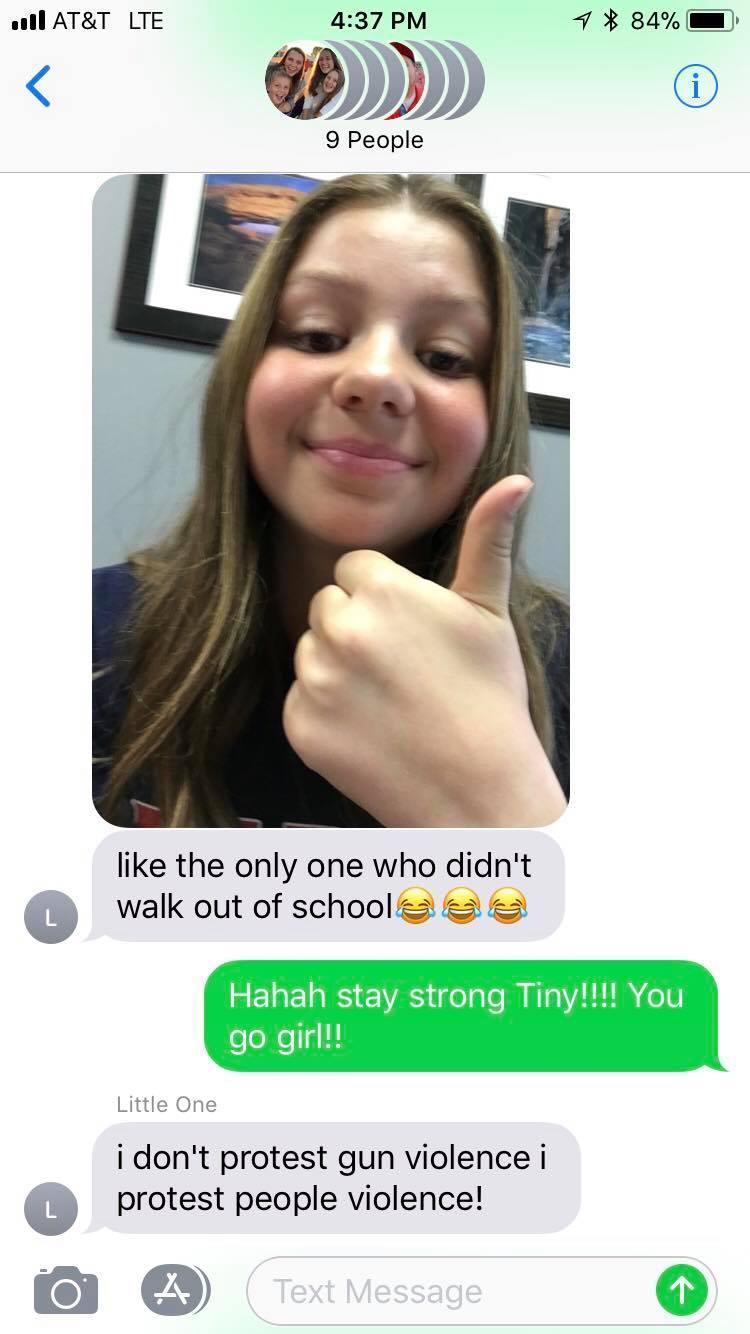 Utah teen Elizabeth Busdicker has a nicer solution to prevent violence in schools.