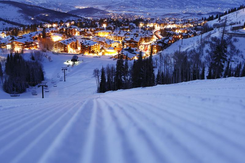 Deer Valley ski resort.