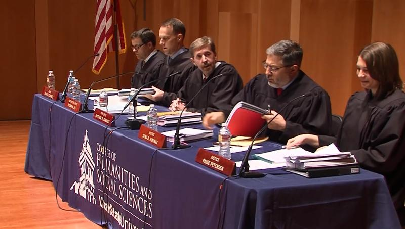 Two cases were heard during a Utah Supreme Court Session in Logan