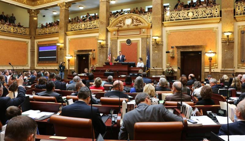 The Utah House of Representatives posted a video on Twitter featuring representatives rapping about how a bill becomes a law. The rap went viral and was recently featured on The Late Show with Stephen Colbert.
