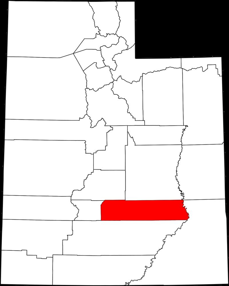 Wayne County, Utah.