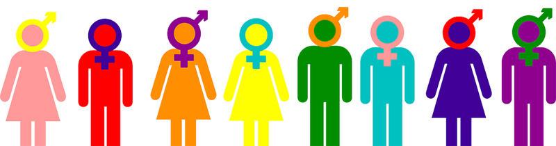 Different LGBTQ identities.