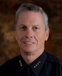 Previous Sandy City police chief Thacker.