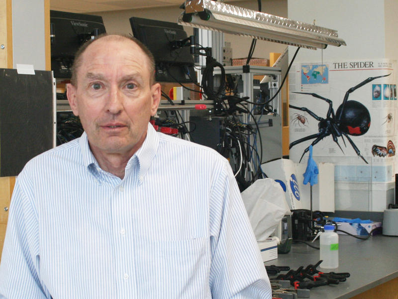 "One USU researcher who is used to being recognized for his pioneering as a scientist is now being recognized for his success as an athlete. Utah's ""spider silk man"" will travel from Logan to California for the honors."
