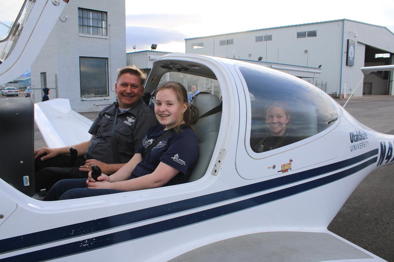 Girls in Aviation take flight