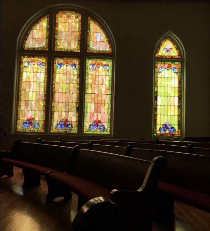 First African Baptist Church in Tuscaloosa, Alabama.