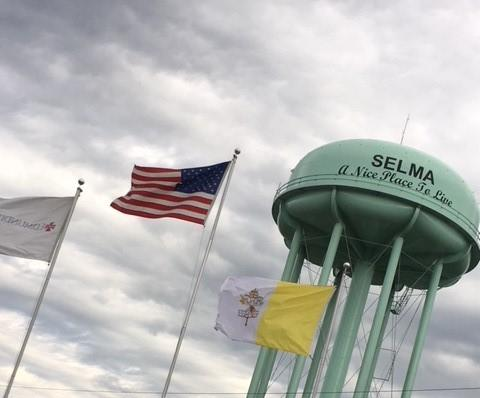 Selma, Alabama water tower