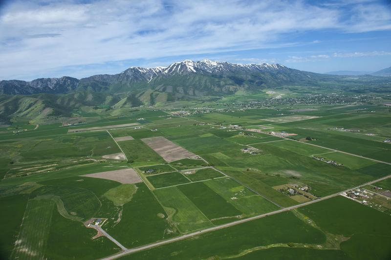 Cache Valley from above