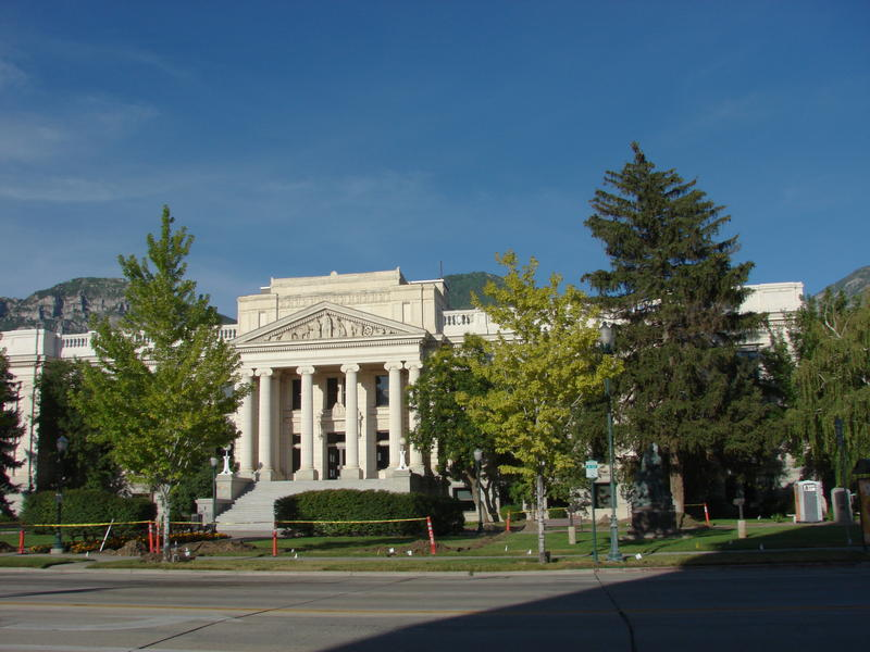 Historic County Courthouse in Provo, Utah