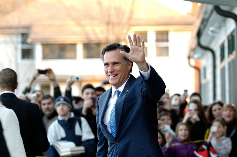 Mitt Romney has large lead on opponent for the primary elections.