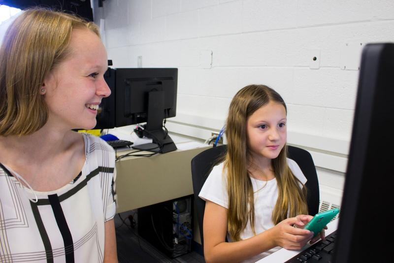 Girls coding camp