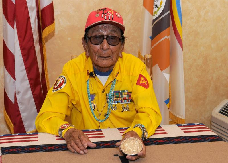 Samuel Tom Holiday was one of the last Navajo Code Talkers.