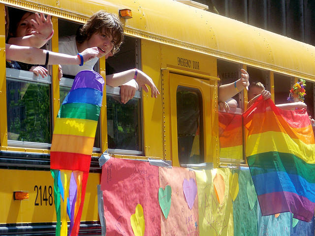 The Human Rights Campaign says policies that promote inclusive school atmospheres are key to protecting LGBTQ teens' well-being.