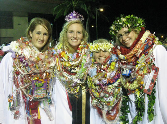 Salt Lake City School District was forced to ban leis due to graduation venue policies.