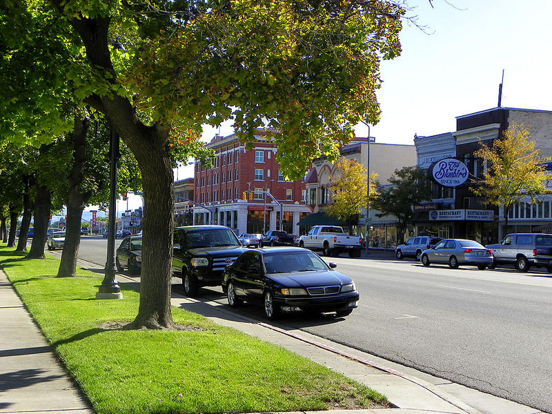 Cars Parked on Logan Main Street; Parking rquirements for mainstreet parking discussed