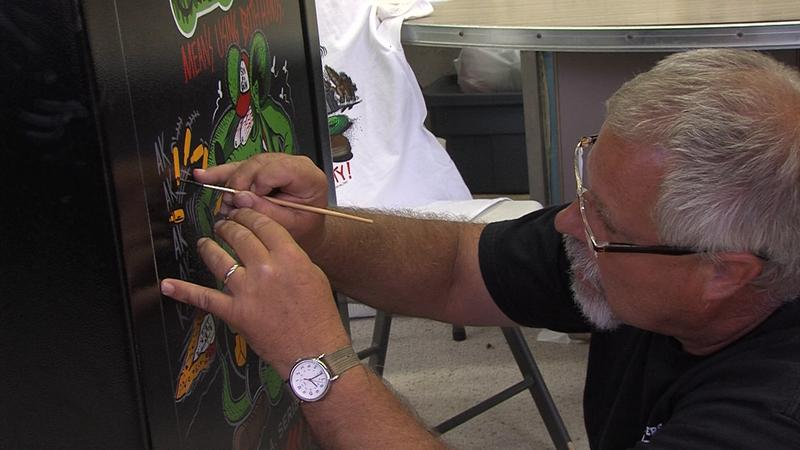Mike Mazooma shares his version of Ed Roth's work