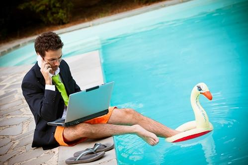 Taking a vacation from work has proven to help employees recover from stress and improve performance according to psychiatrists. Researchers are finding positive effects from a vacation are usually lost within a few days of coming back to the office.