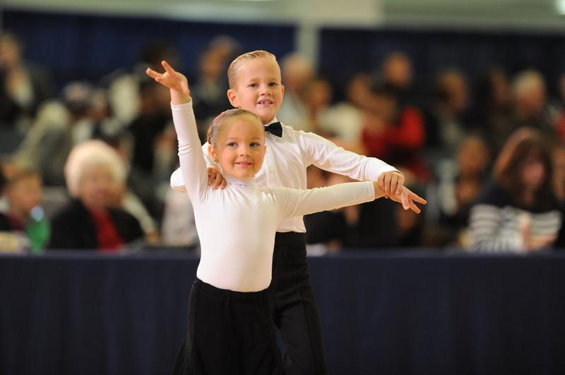 Young Children Ballroom Dance; Children from Davis County Ballroom preform a routine.