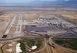 Estimated $500,000 of damage done due to rental car fires at Salt Lake City International Airport.