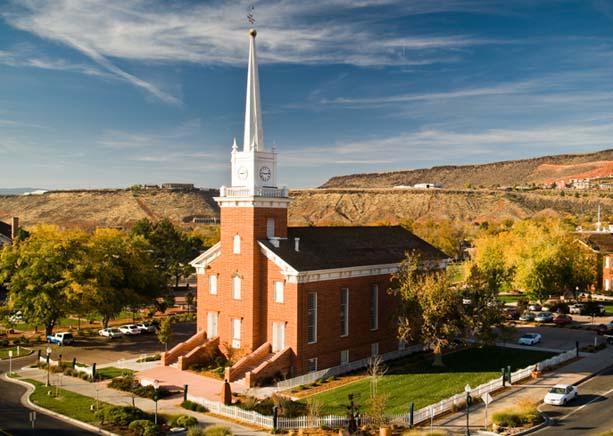 Tabernacle in St. George, Utah