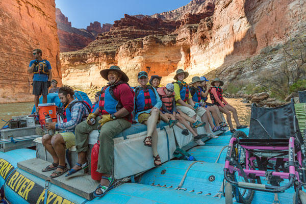 Adaptive transportation and equipment gear allow clients with the National Ability Center to access some of Utah's most scenic public lands