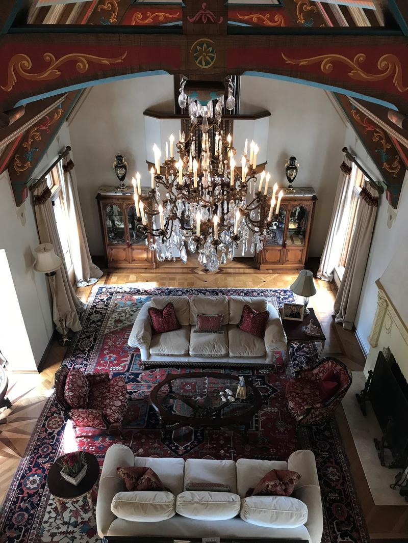 An interior view of the Holt home, recently donated to Westminster College.
