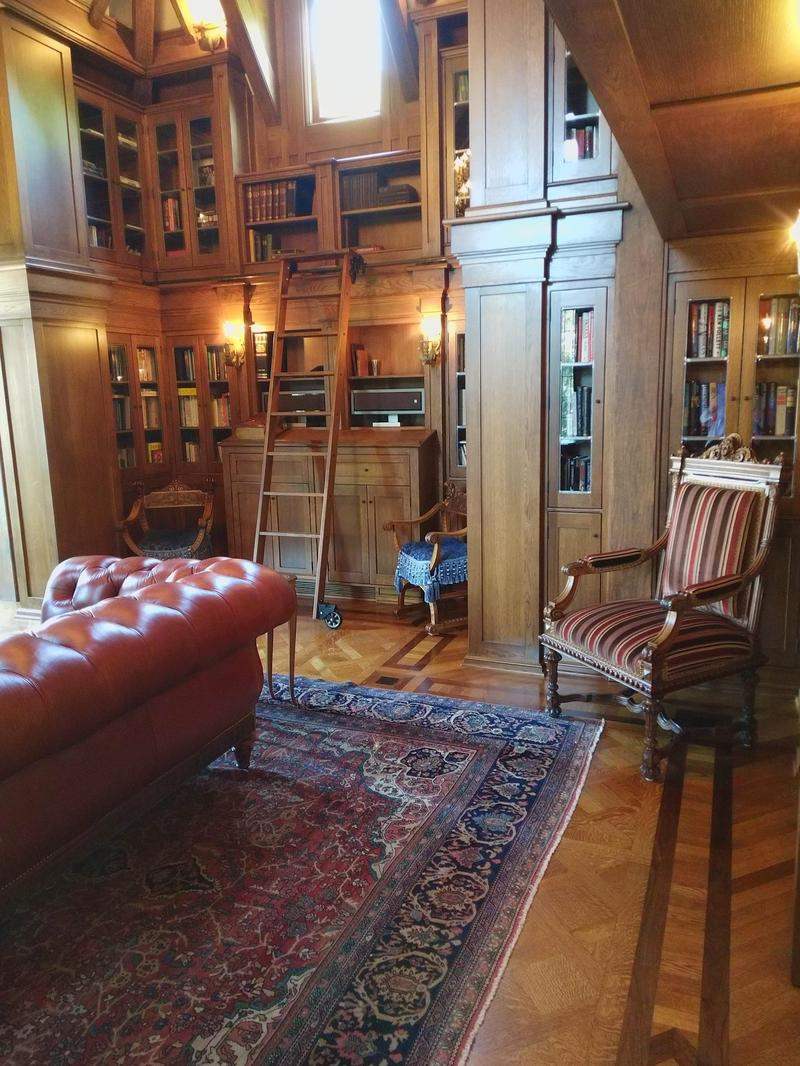 The library of the Holt home, recenty donated to Westminster College.