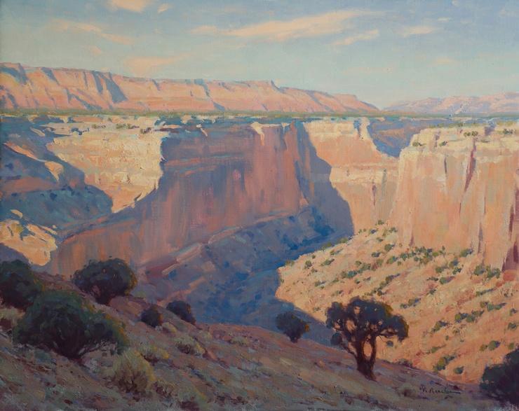 A painting by Maynard Dixon
