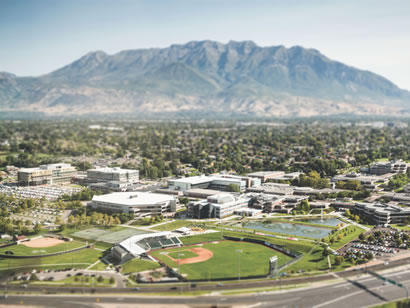 Utah Valley University in Orem, Utah.