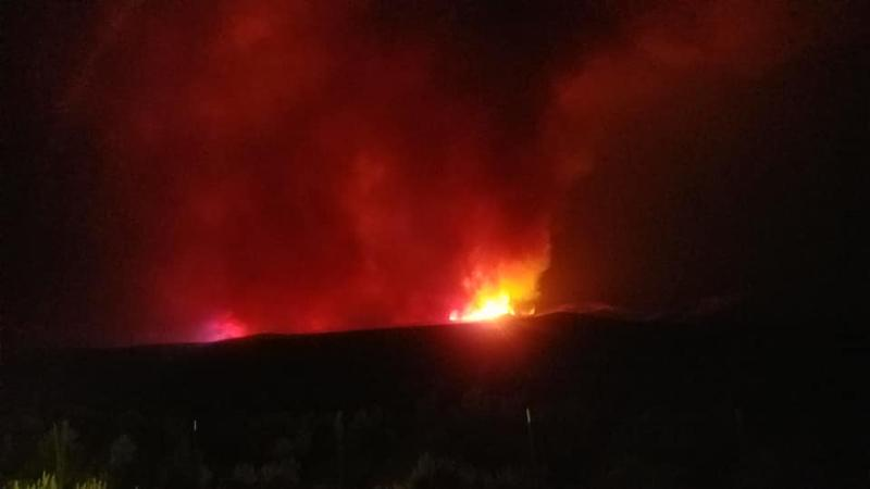 The North Eden Fire close to Bear Lake is burning into Idaho and Wyoming, forcing crews from all three states to fight the flames. Local officials are now working to protect their community.