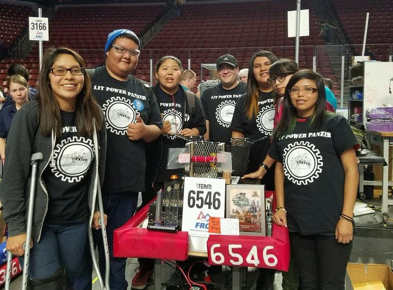 Navajo Mountain High School Robotics Team
