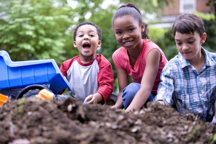 Children playing; U of U professor discusses how to talk about race with children.