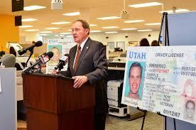 Utah Governor Gary Herbert introduces new drivers liscense.