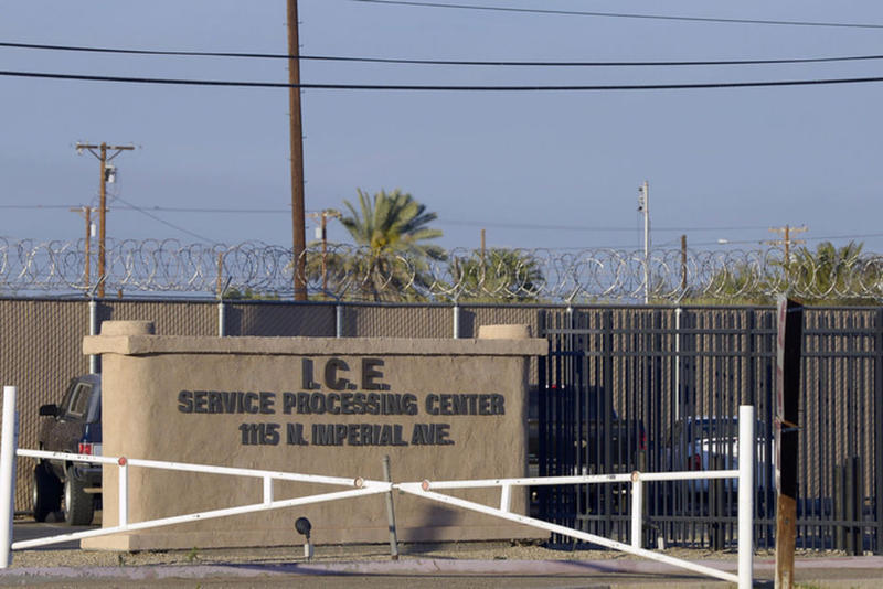 Immigration and Customs Enforcement center.